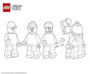 Coloriage Lego City Space Starter Set