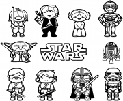 Coloriage lego star wars unique elegant