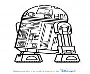 Coloriage star wars r2d2 disney 2019