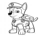 pat patrouille chase pour garcon dessin à colorier