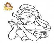 Disney Princesse Tiana 2009 dessin à colorier