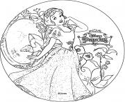 disney princesse blanche neige 1937 dessin à colorier
