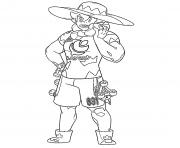 Percy Champions Arene region Galar Pokemon Plante dessin à colorier