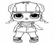Coloriage lol doll brrr bb