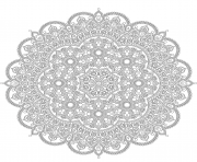 Coloriage coloring free mandala difficult adult to print 13  dessin
