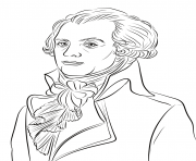 Coloriage Maximilien Robespierre