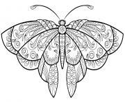 papillon jolis motifs 1 dessin à colorier