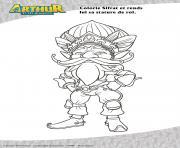 Sifrat Arthur dessin à colorier