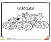 Le super bolide ! dessin à colorier