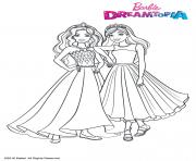 Coloriage Princesses Paillettes