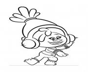 Gulli Les Trolls DJ Suki dessin à colorier