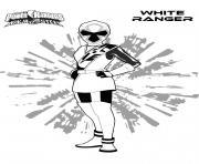 Gulli Ranger Blanc dessin à colorier