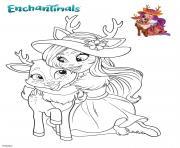 Danessa et Sprint dessin à colorier