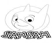SamSam Heros de Gulli dessin à colorier