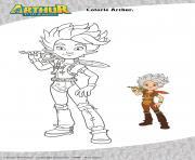 Arthur dessin à colorier