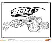 Gulli Blaze et AJ dessin à colorier