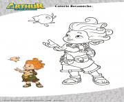 Gulli Betameche dessin à colorier