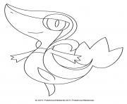 Vipelierre Pokemon dessin à colorier