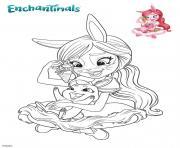 Gulli Bree et Twist dessin à colorier