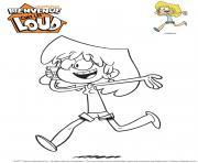 Lori de Bienvenue chez les Loud Gulli dessin à colorier