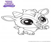Quincy littlest Pet Shop dessin à colorier
