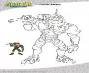 Darkos Arthur dessin à colorier
