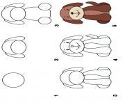 comment dessiner un chien dessin à colorier