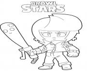 Brawl Stars Bibi Bat dessin à colorier