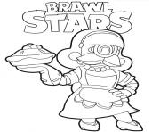 Bakesale Barley Brawl Stars dessin à colorier