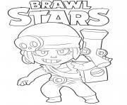Penny Brawl Stars dessin à colorier
