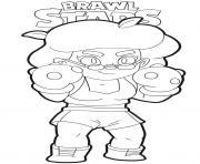 Rosa Brawl Stars dessin à colorier
