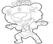 Brawl Stars Nita dessin à colorier