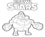 Robo Mike Brawl Stars dessin à colorier