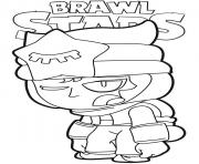 Coloriage Sandy Tired Brawl Stars