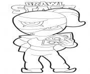 Tara Brawl Stars dessin à colorier