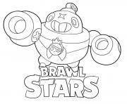 Tick Brawl Stars dessin à colorier