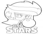 Brawl Stars Bibi Gum dessin à colorier