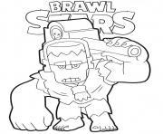 Brawl Stars Frank dessin à colorier