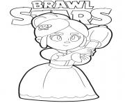 Coloriage Brawl Stars Piper