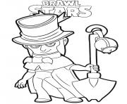 Mortis Brawl Stars dessin à colorier