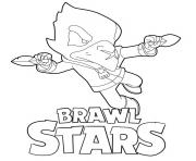 Coloriage Flying Crow Brawl Stars