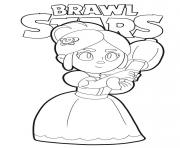 Coloriage Piper Brawl Stars