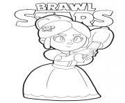 Piper Brawl Stars dessin à colorier