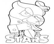 Crow Brawl Stars dessin à colorier