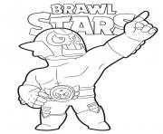 Draw It Cute coloring page BrawlStars El Rudo Primo dessin à colorier