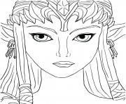 Coloriage dessin zelda 108 dessin