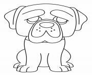 Chien Hagrid Funko Pop dessin à colorier