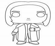 Severus Rogue Funko Pop dessin à colorier
