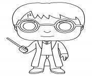 Coloriage Harry Potter En Miniature