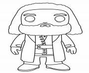 Hagrid Funko Pop dessin à colorier